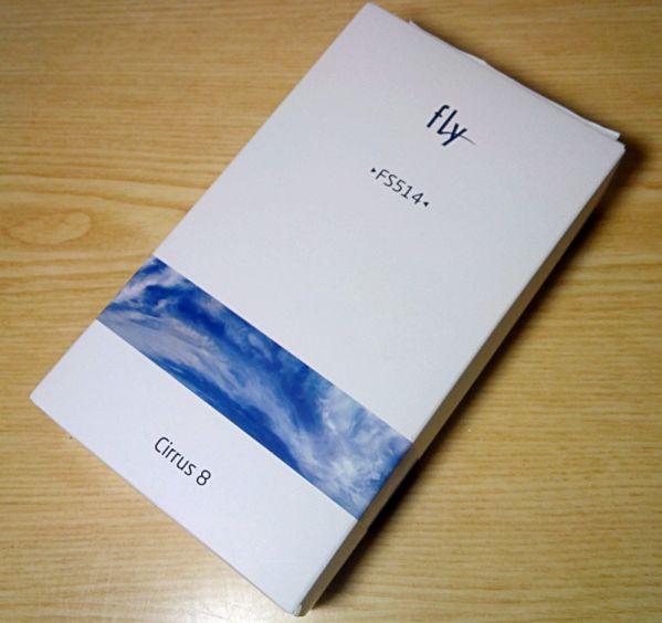 коробка от Fly Cirrus 8
