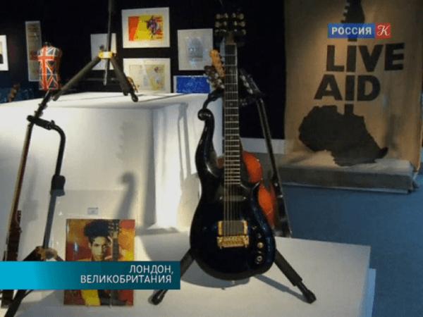 Гитары Джими Хендрикса и Принса
