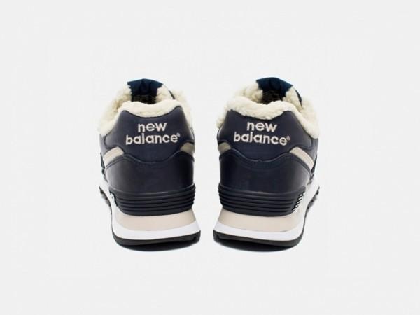 Кожаные кроссовки с меховым утеплителем