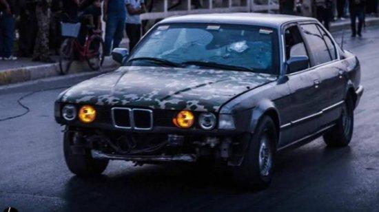 бронированный BMW