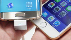 Дактилоскоп в Samsung Galaxy S8