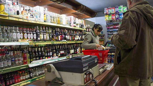 Интерактивная карта продажи алкоголя