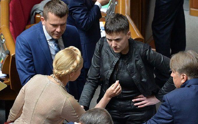 Тимошенко изгоняет Савченко