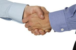 заключение торговых сделок