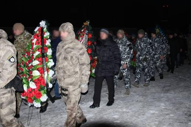 похоронs трех жертв стрельбы в Княжичах