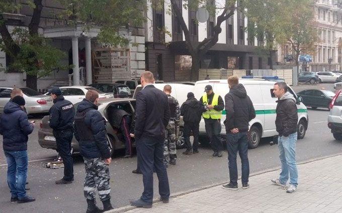 стрельба в центре Одессы