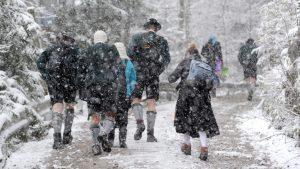 Внезапное похолодание в Европе
