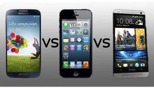 Samsung Galaxy S8 с iPhone