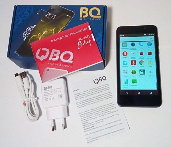 Смартфон BQ Belief