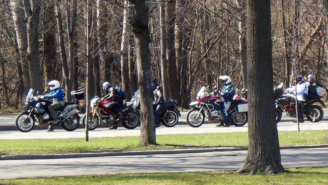 открытие сезона мотоциклистов