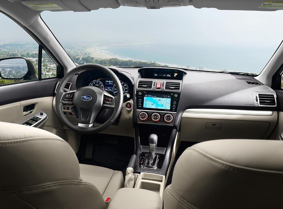 Subaru Impreza фото салона
