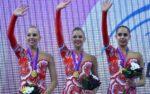 Россиянки увезли с ЧМ по художественной гимнастике почти все золото