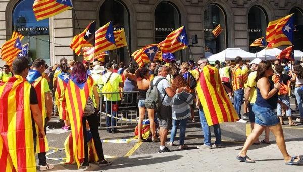 На референдуме в Каталонии