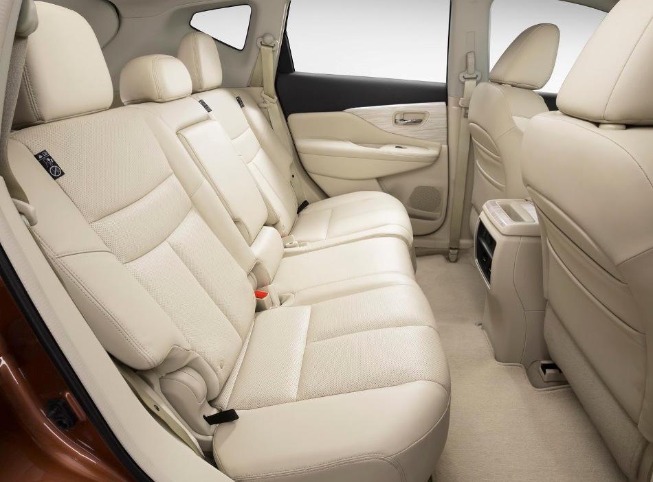 Nissan Murano фото салона