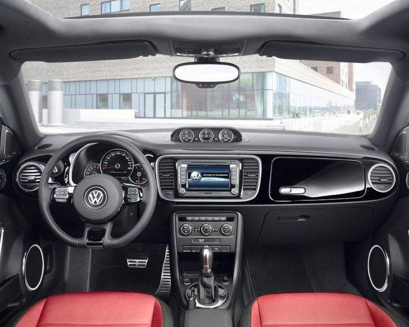 Volkswagen Beetle фото салона