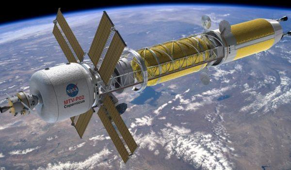 космический корабль для полетов на Марс
