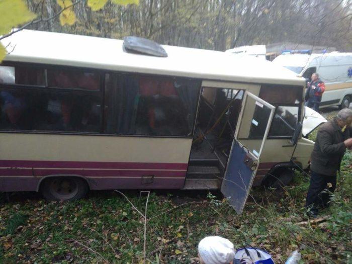 Жуткая авария у Львова