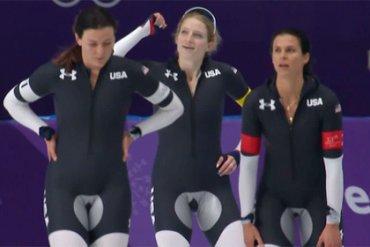 В Сети обсуждают форму конькобежек из США