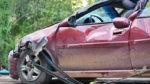 Во Львове Renault врезался в ограждение: есть жертвы