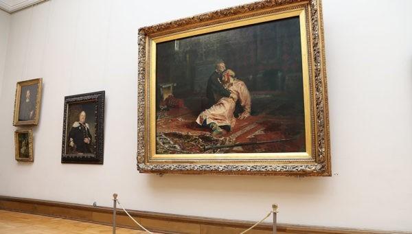 картины в Третьяковской галерее