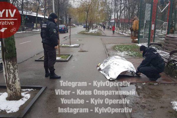 В Киеве умер мужчина