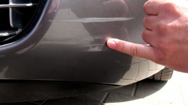 удаление царапин на машине