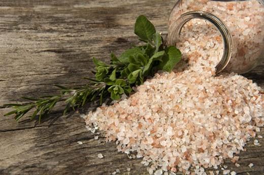 Четверговая соль с целебными травами